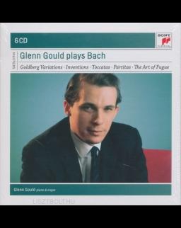Gould plays Bach 6 CD (Goldberg Variations, Toccatas, Partitas, Art of Fugue..)