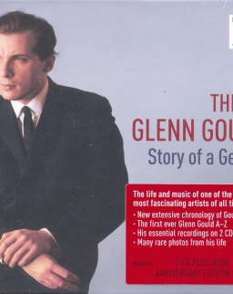 Gould, Glenn: This is Glenn Gould - Story of a Genius (2 CD+könyv)