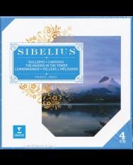 Jean Sibelius: Symphonic Poems & Cantatas - 4 CD
