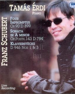 Schubert: Impromptus, Sonata, Klavierstücke