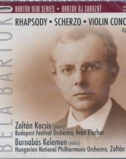 Bartók Béla: Rhapsody, Scherzo, Violin concerto - SACD