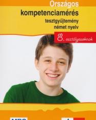 Országos kompetenciamérés tesztgyűjtemény német nyelv 8. osztályosoknak