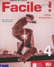 Facile Plus 4 - Cahier d'exercices + CD audio