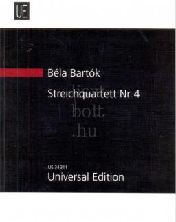 Bartók Béla: String Quartet 4. kispartitúra