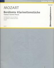 Wolfgang Amadeus Mozart: Berühmte Klarinettenstücke