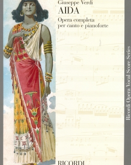 Giuseppe Verdi: Aida - zongorakivonat (olasz)