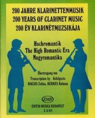 200 év klarinétmuzsikája - Nagyromantika