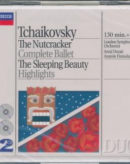 Pyotr Ilyich Tchaikovsky: The Nutcracker, The Sleeping Beauty - részletek - 2 CD