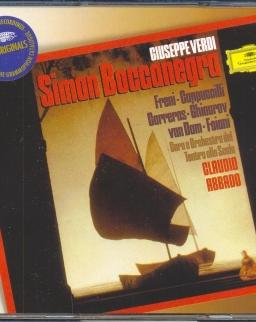 Giuseppe Verdi: Simon Boccanegra - 2 CD + szövegkönyv