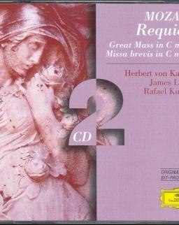 Wolfgang Amadeus Mozart: Requiem, Great Mass, Missa brevis in C - 2 CD