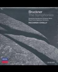 Anton Bruckner: Symphonies 1-10  (10 CD)