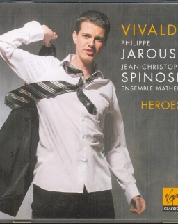Philippe Jaroussky: Heroes -  Vivaldi- operaáriák