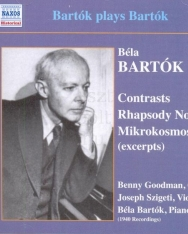 Bartók plays Bartók (Contrasts, Rhapsody for Violin 1, Mikrokosmos)