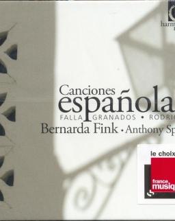 Canciones Espanolas (De Falla, Rodrigo, Granados)