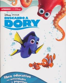 Buscando A Dory. Libro Educativo Disney Con Actividades Y Pegatinas