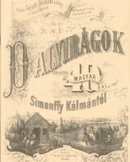 Dalvirágok - 40 eredeti magyar dal Simonffy Kálmántól