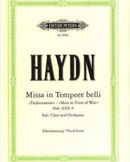 Joseph Haydn: Paukenmesse - zongorakivonat