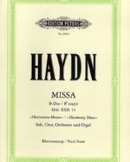 Joseph Haydn: Harmoniemesse - zongorakivonat