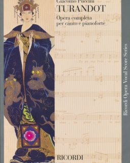 Giacomo Puccini: Turandot - zongorakivonat (olasz)