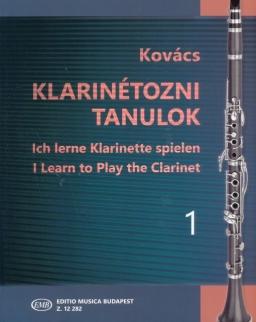 Kovács Béla: Klarinétozni tanulok 1.
