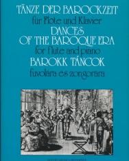 Barokk táncok fuvolára