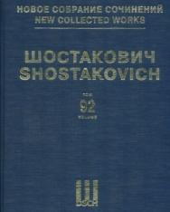 Dmitri Shostakovich: Songs (mezzo)