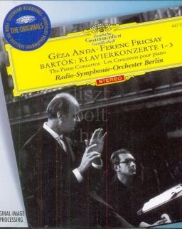 Bartók Béla: Piano Concertos Nos. 1-3