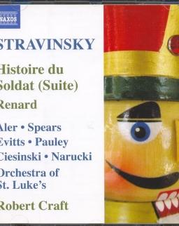 Igor Stravinsky: Histoire de Soldat (Suite), Pastorale, Three Pieces for Clarinet