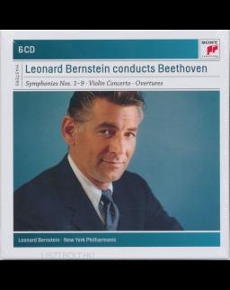 Leonard Bernstein conducts Beethoven - 6 CD (Szimfóniák, Hegedűverseny, Nyitányok)