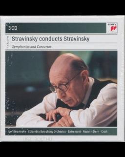 Stravinsky conducts Stravinsky - 3 CD