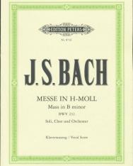 Johann Sebastian Bach: Messe in h - moll - zongorakivonat