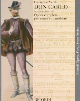 Giuseppe Verdi: Don Carlo - zongorakivonat (olasz)