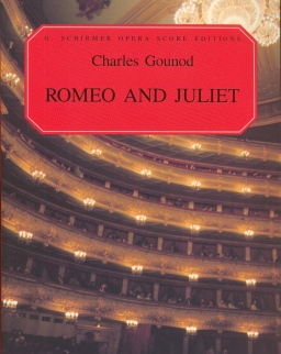 Charles Gounod: Romeo and Juliet - zongorakivonat (francia, angol)