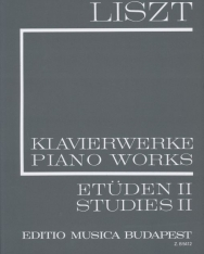 Liszt Ferenc: Etűdök 2. (fűzött)