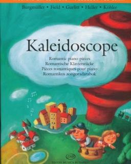 Kaleidoscope - romantikus zongoradarabok - Burgmüller - Field - Gurlitt - Heller - Köhler