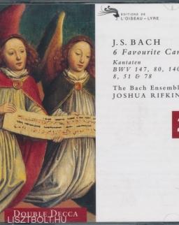 Johann Sebastian Bach: Cantata  BWV 147, 80, 8, 140, 51, 78  - 2 CD