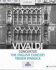 Antonio Vivaldi: Concertos - 5 CD
