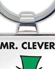 Mr. Clever Keyring