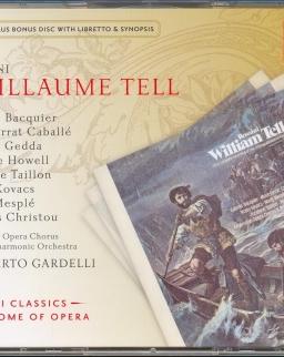 Gioachino Rossini: Guillaume Tell - 4 CD + Bonus CD-rom szövegkönyv