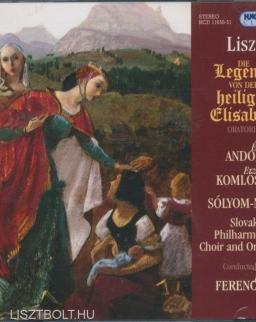 Liszt: Legende von der heiligen Elisabeth - 2 CD