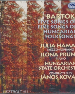 Bartók Béla: Five songs