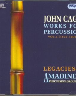 John Cage: Works for Percussion Vol. 6.