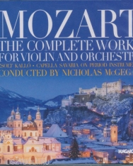 Wolfgang Amadeus Mozart: Complete works for Violin and Orchestra - 2 CD