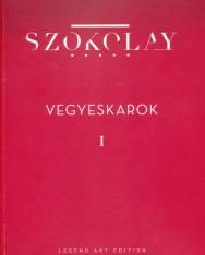 Szokolay Sándor: Vegyeskarok 1-4.