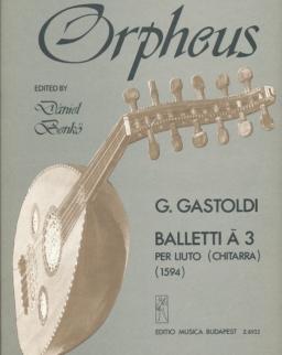 Gastoldi: Baletti (gitár)