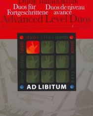 Duók haladóknak - Ad libitum sorozat, választható hangszerösszeállítással