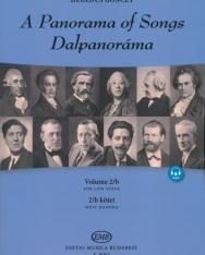 Dalpanoráma - Négy évszázad könnyű dalai mély hangra 2/b