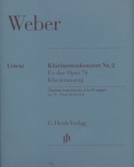 Carl Maria von Weber: Concerto for Clarinet No. 2   Es-dur Opus 74 zongorakísérettel
