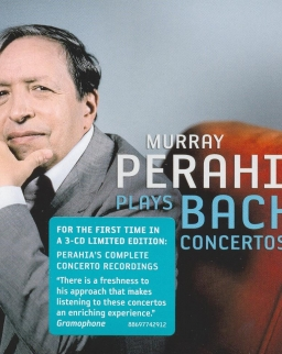 Perahia plays Bach Concertos  - 3 CD