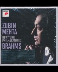 Zubin Mehta conducts Brahms - 8 CD